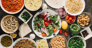 果物と野菜にはタンパク質が豊富に含まれている!